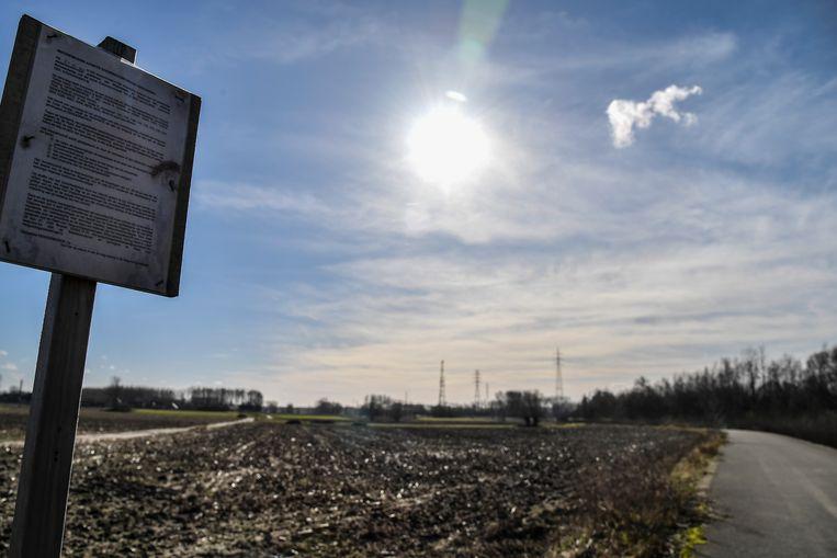 De site Oud Klooster in Dendermonde, de plek waar de nieuwe gevangenis moet komen.