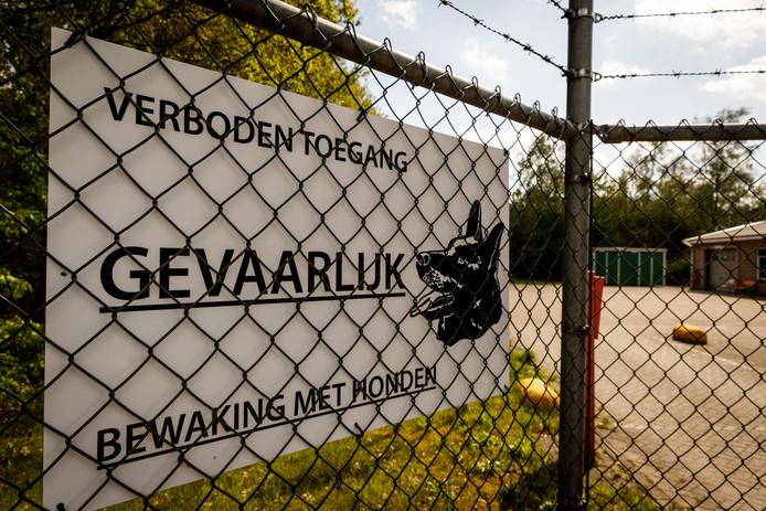 Munitiedepot van Defensie in Staphorst.
