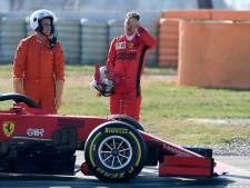 Vettel kent vervelende eerste testweek in Barcelona