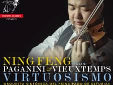 Violist Ning Feng laat zich in Vieuxtemps helemaal uit de tent lokken