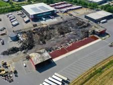 Door brand getroffen Van der Heijden Transport tijdelijk naar Acht