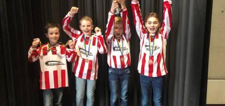 Derde plek Wierdense Widerode bij provinciale schoolschaakfinale