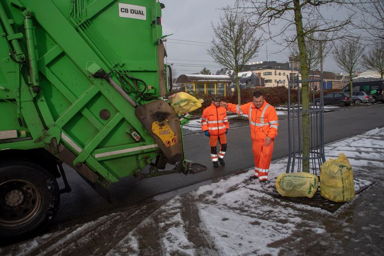 Na wekenlang staken is Verko, ook in barre omstandigheden, weer aan het werk in Wetteren.