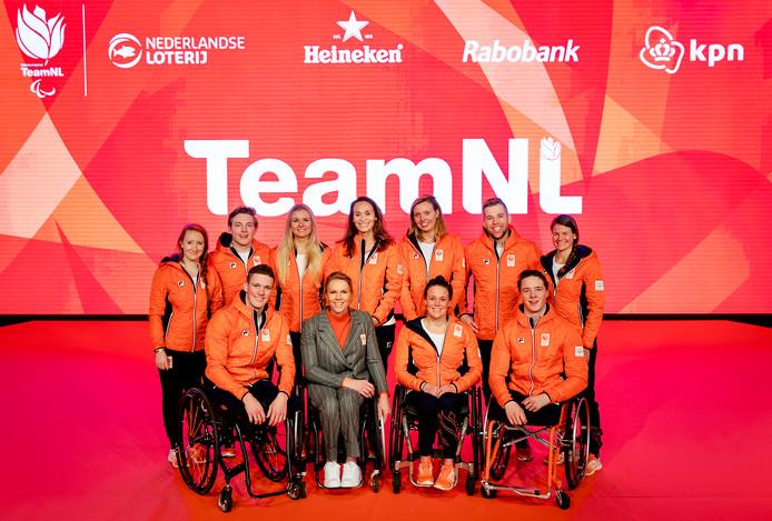 De paralympische sporters van TeamNL.