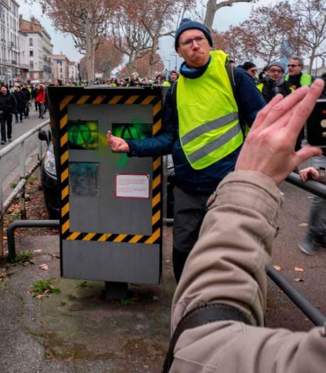 Tweederde Franse flitspalen gesloopt, schade ruim half miljard