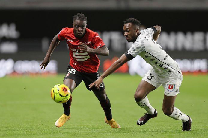 Jérémy Doku était titulaire pour la première fois mais n'a pas porté chance à Rennes.