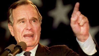 Een portret van George H. W. Bush: hij noemde zijn zoon 43, zijn zoon sprak hem aan als 41