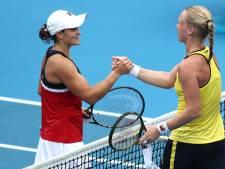 Barty als eerste zeker van WTA Finals, werk aan de winkel voor Bertens