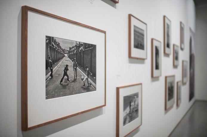 De nieuwe expo met het werk van Martine Franck.