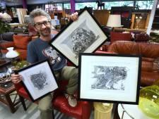 Hoe dure kunst voor een prikkie werd gekocht bij de kringloop in Houten