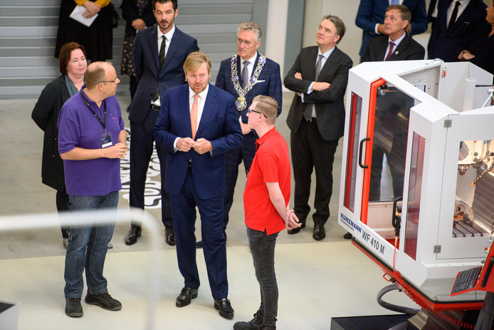 EINDHOVEN - Opening Brainport Industries Campus (BIC) door koning Willem-Alexander*