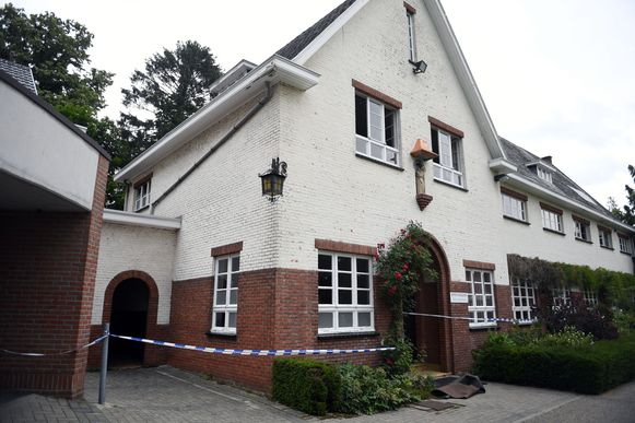 Brandstichting in het Monfortcollege in Rotselaar.