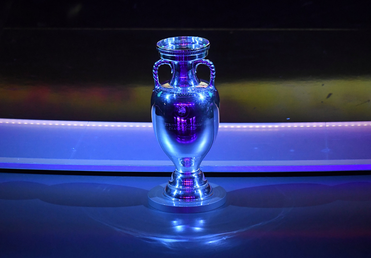 De Henri Delaunay Cup, de beker die hoort bij de Europees kampioen.