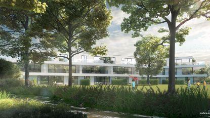 Bouw van 18 luxeflats in het groen gestart