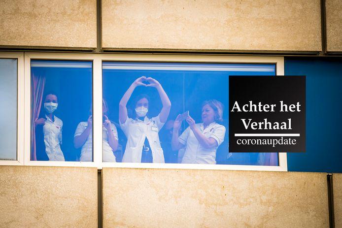 MAASTRICHT - Hulpdiensten klappen voor zorgverleners bij het Maastricht UMC+.
