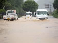 Tienduizenden geëvacueerd vanwege noodweer Japan