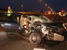'Stijf van de speed' bij ongeval op A2 bij Bruchem; er hadden doden kunnen vallen