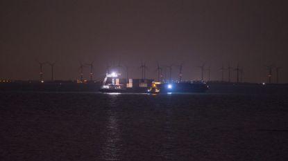 Uit Antwerpen vertrokken binnenvaartschip botst op Oosterschelde met tanker