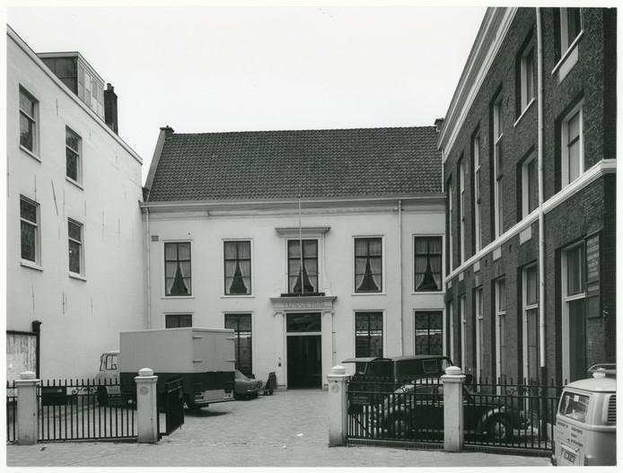 Het Venduehuis in de Nobelstraat in 1973.