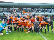 Nieuw Borgvliet pakt titel en keert na één seizoen terug naar vierde klasse