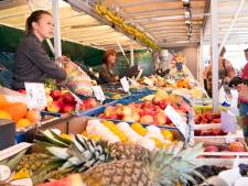 Zaterdagmarkt in Ede moest halverwege tóch op slot: 'Dit valt niemand te verwijten'