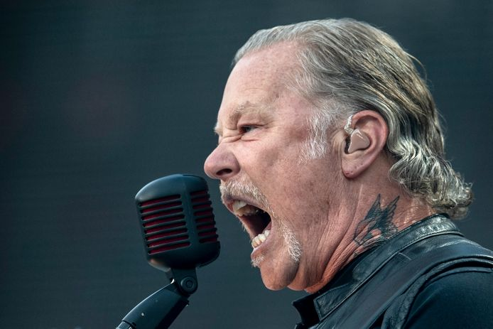 Metallica-frontman James Hetfield.