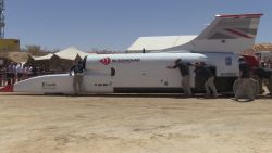 Deze wagen wil recordsnelheid van 1287 km per uur halen