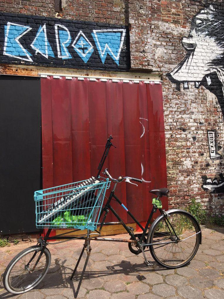 De fiets van #kapowonwheels.