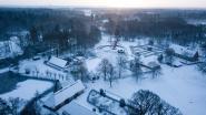 VIDEO. Feeëriek in 't kwadraat: Bokrijk onder prachtig sneeuwtapijt