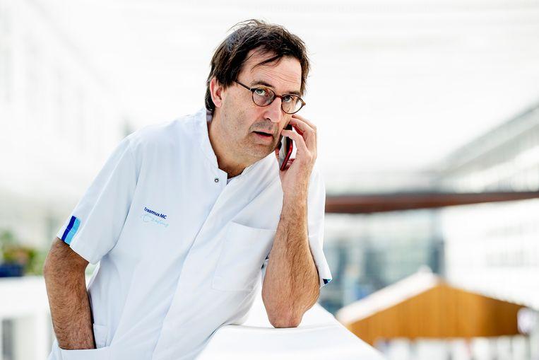 Diederik Gommers leidde als voorzitter van de landelijke vereniging voor ic-artsen 'operatie corona' op de ic's. Beeld BSR Agency