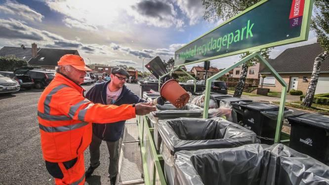 Mobiel recyclagepark strijkt neer in Boomse centrum