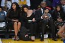 De familie van Kobe Bryant.
