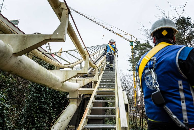 Attractiepark de Efteling neemt afscheid van de oude Python. De achtbaan stamt uit het openingsjaar 1981 en heeft inmiddels een totale afstand van 309.435 kilometer afgelegd.