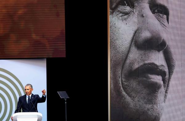 Obama ziet 'het totale verlies aan schaamte bij politieke leiders als ze worden betrapt op een leugen'
