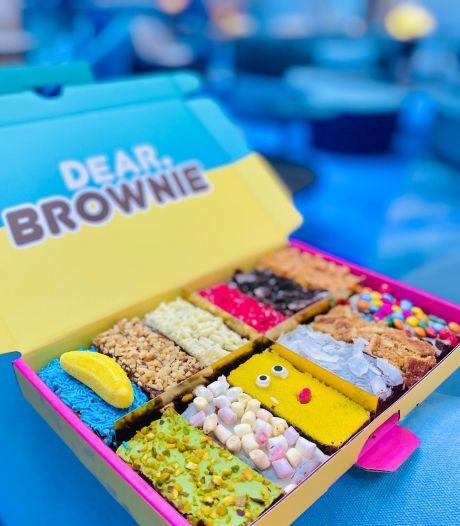 Chocolade lekkernijen in de brievenbus: Dear Brownie levert nu ook in België