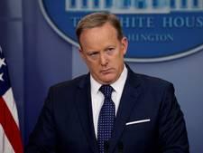 De bekendste woordvoerder van het Witte Huis is Trump beu