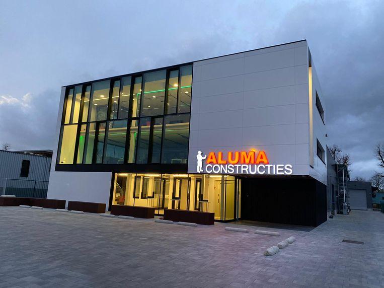 Aluma Constructies is trots op de uitbreiding.