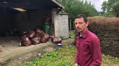 """Bewoner sociaal huurhuis kampt met groot rattenprobleem door hoop achtergelaten afval: """"Ze vallen zelfs aan!"""""""