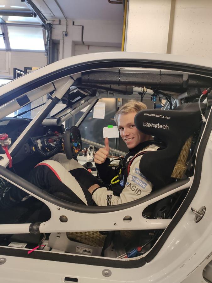 Larry ten Voorde was maandag alweer in Duitsland om een stoel te passen voor zijn volgende uitdaging: Le Mans.