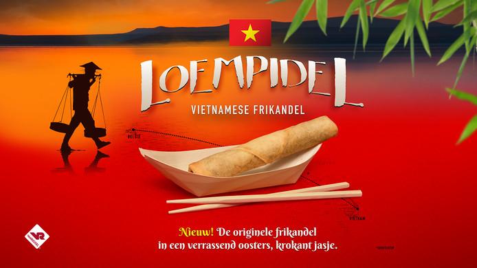 Een nieuwe snack, de Loempidel!