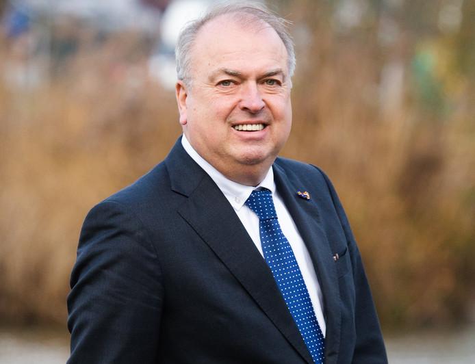 Burgemeester Peter van der Velden van de gemeente Hoeksche Waard.