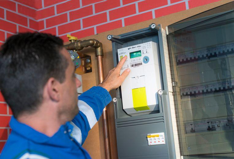 Dankzij de digitale meter worden de meterstanden automatisch doorgestuurd en kan het energieverbruik in real time worden opgevolgd.