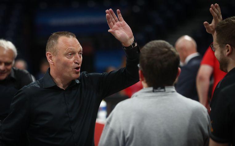 coach Philip Mestdagh.