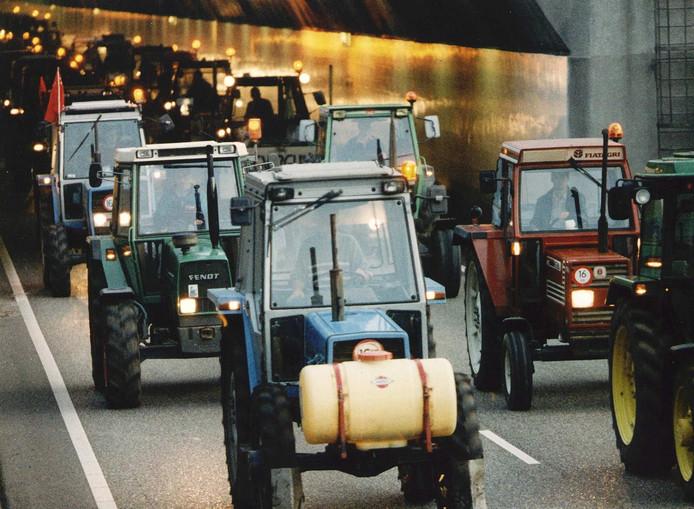 Het boerenprotest op 14 oktober.