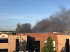 Grote brand op industrieterrein Zaltbommel is geblust
