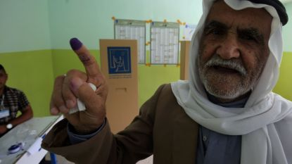 Grote incidenten blijven uit bij eerste verkiezingen in Irak na nederlaag IS