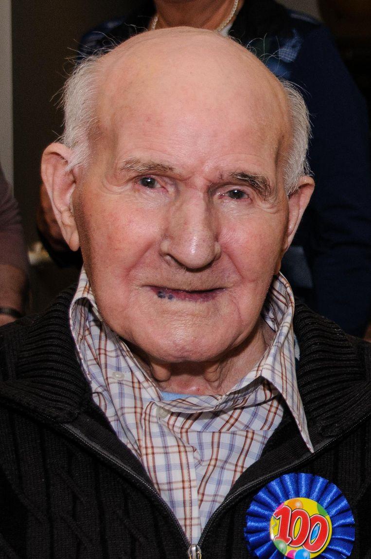 Franje Anthonis vierde op 7 november nog zijn 101ste verjaardag.
