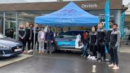 Hyundai Devisch en basketclub Filou Oostende vieren vijfde sponsorjaar in stijl