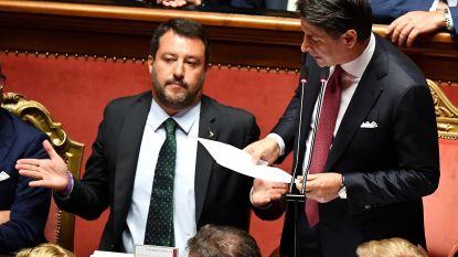 Ontslagnemend Italiaans premier veegt de vloer aan met 'buurman'