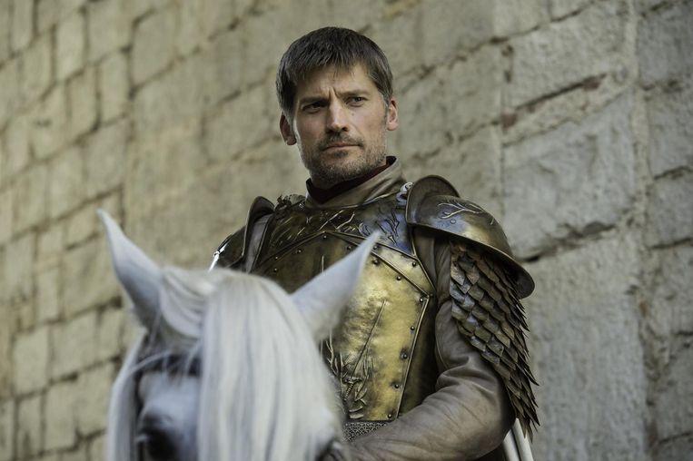 Jaime Lannister, de broer van Cersei. De twee hebben een incestueuze relatie.
